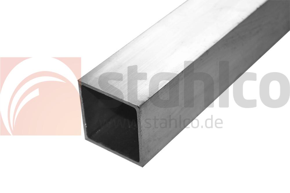 aluminium alu quadrat rohr vierkant 20x20x2 mm shop stahlco. Black Bedroom Furniture Sets. Home Design Ideas